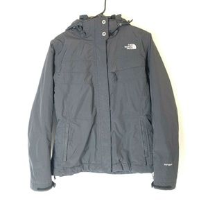 The North Face Hyvent Winter Jacket Womens M Black